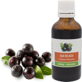 Ulei de Acai virgin BIO (10 ml)